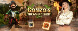 gonzos treasure hunt live evolution gaming