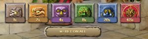 how to bet on gonzo's treasure hunt live